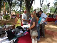 Flohmarkt auch in Caacupé