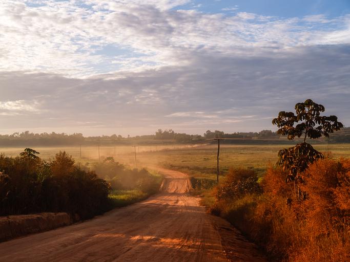 Typische Landschaft in Paraguay