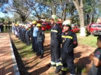 Feuerwehr (Bomberos) Vereidigung in Altos